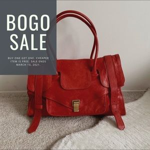 Proenza Schouler PS1 Keep-All Bag Small in Red